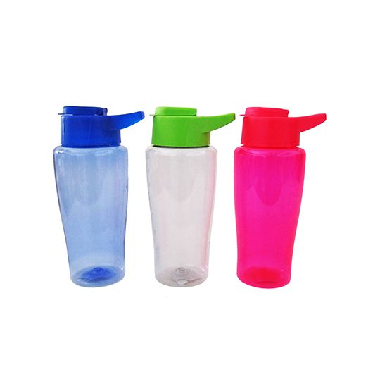 Garrafa/ Squeeze  Esportiva de  plastico Pet shake Colors 800 ml  - Super Tri Shop - Bolas - Utilidades - Presentes