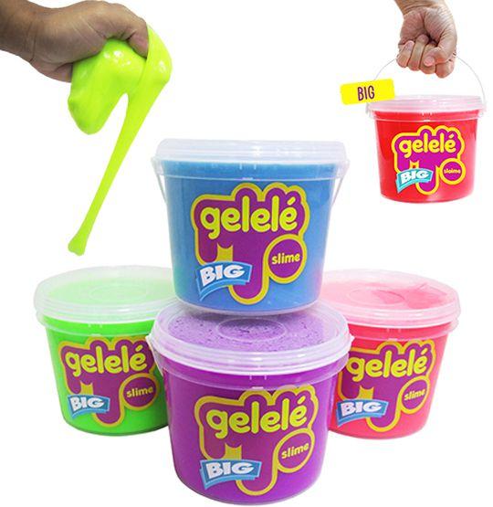 Geleinha Slime / Gelele Balde Big Colors 2 Kg  - Super Tri Shop - Bolas - Utilidades - Presentes
