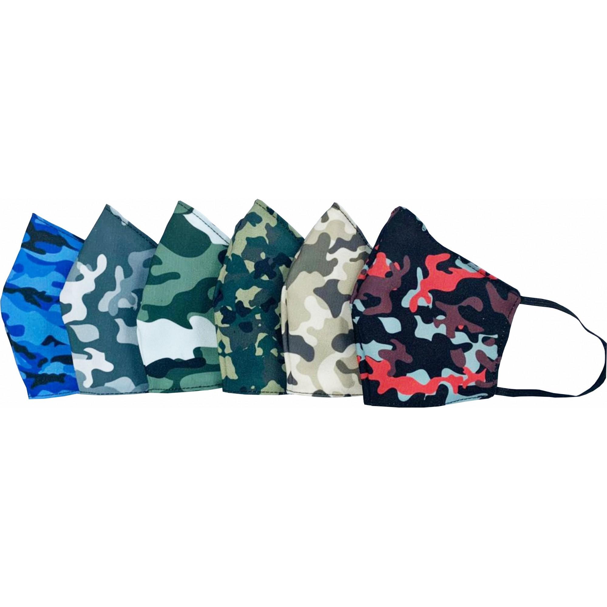 Kit 50 Máscaras de Tecido