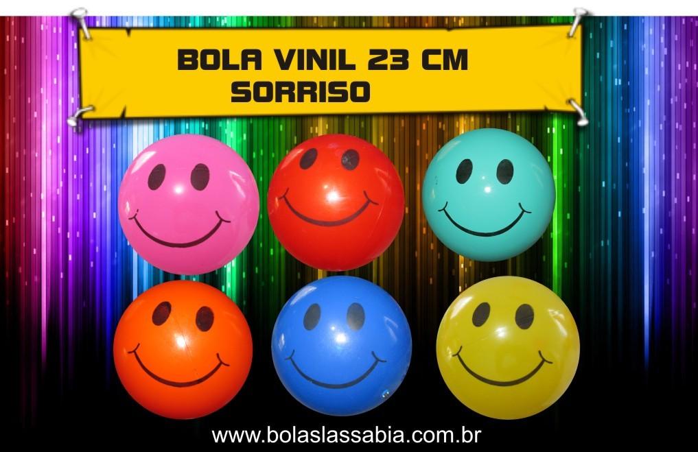 Mix 200 bolas de Vinil Dente de Leite  - 23 cm  - Bolas Lassabia - Bolas de Futebol e Volei