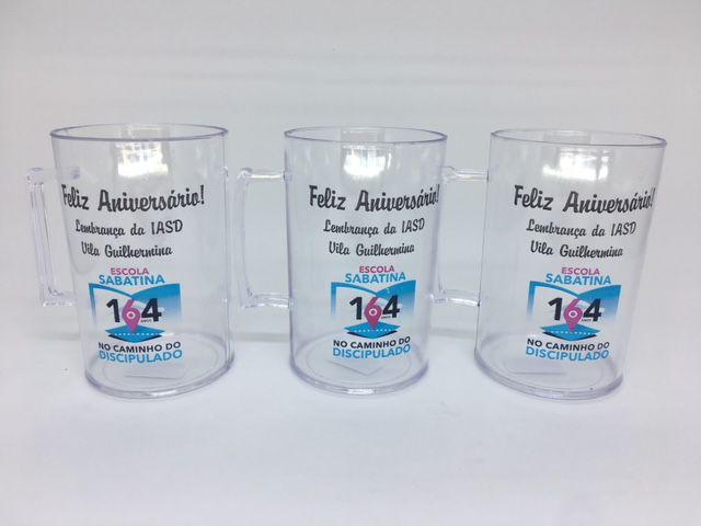 Mostruário Personalizado, Copos, Canecas e Taças   - Bolas Lassabia - Bolas e Brindes Personalizados
