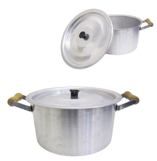 Panelão / Caldeirão de Aluminio Nº 26 26 cm DE Ø  - Super Tri Shop - Bolas - Utilidades - Presentes