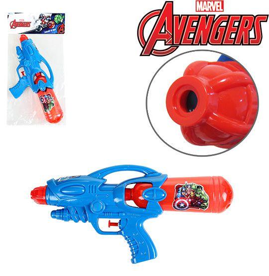 Pistola Lança Água Vigadores   - Bolas Lassabia - Bolas e Brindes Personalizados