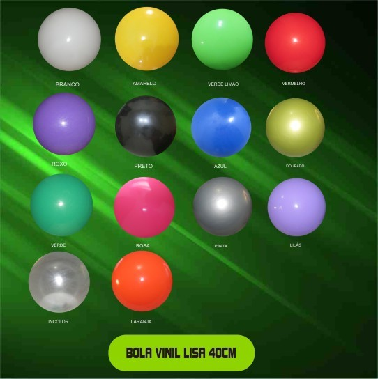 Super Bolão de decoração Colorido Kit com 50 Unidades  - Bolas Lassabia - Bolas de Futebol e Volei