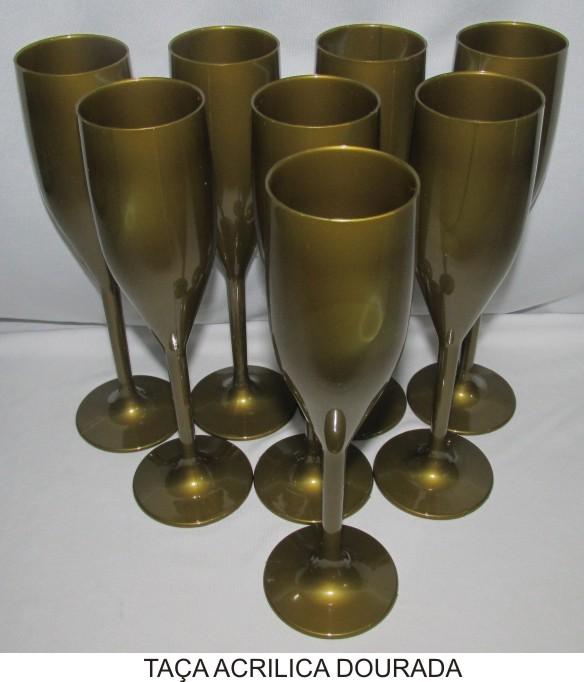 Taça de Champanhe - kIT com 100 Un.