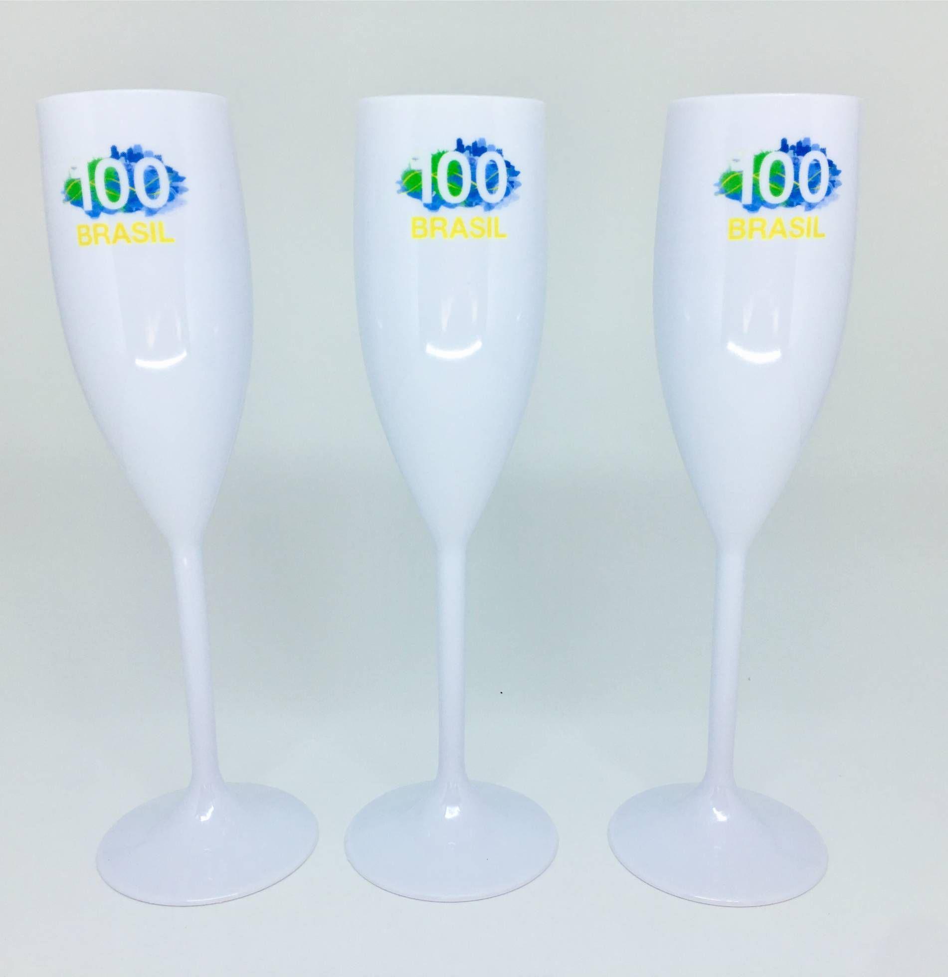 Taça de Champanhe  Personalizada - Kit com 50 Peças  - Super Tri Shop - Bolas - Utilidades - Presentes