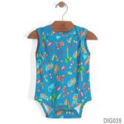 Body Regata Azul Royal | UP BABY
