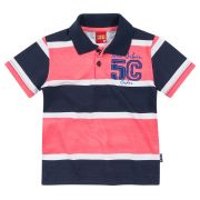 Camiseta Polo Infantil Malha New Urban | KYLY