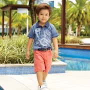 Camiseta Polo Meia Malha Sailor | UP BABY