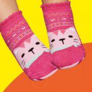 Meia Pansocks Baby Pink (1-5 anos) | PUKET