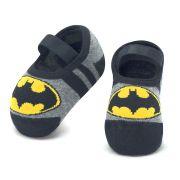 Meia Sapatilha Batman Mescla (12-24 meses) | PUKET