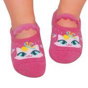 Meia Sapatilha Gatinha Pink (12-24 meses) | PUKET