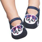 Meia Sapatilha Panda Marinho (12-24 meses) | PUKET