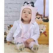 Touca de Plush Panda (7-24 meses) | EVERLY