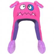 Touca Gorro Mexe Orelha Monstrinho Pink | EVERLY