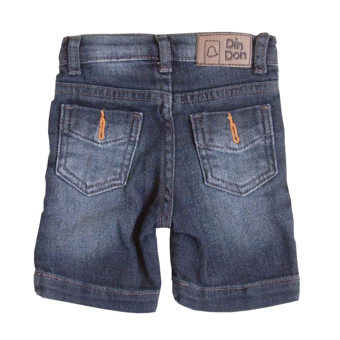 Bermuda Jeans Menino   DIN DON