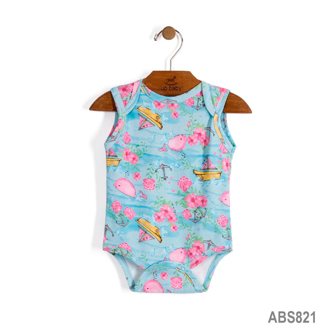 Body Regata Azul Turquesa | UP BABY