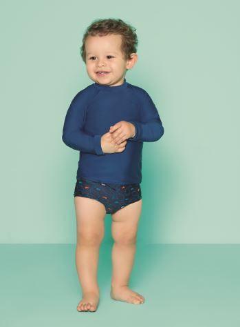 Camiseta Baby Lisa Azul | PUKET