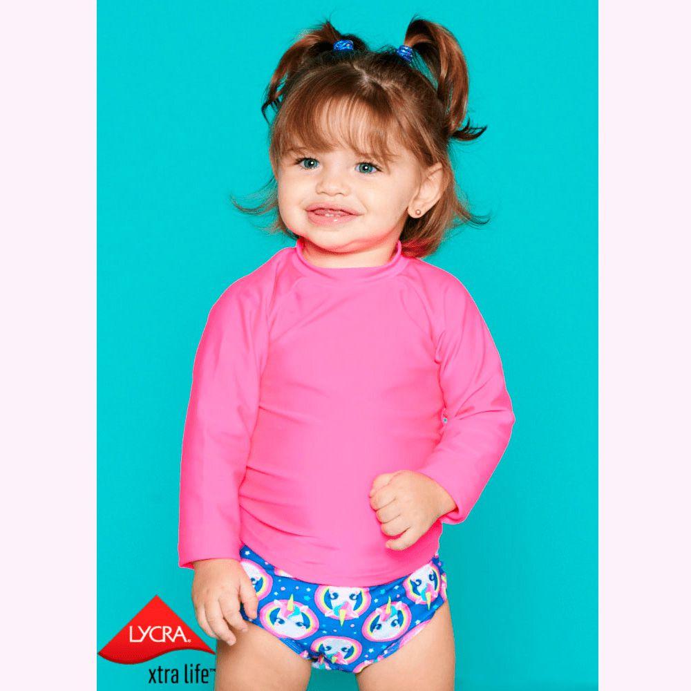 Camiseta Baby Lisa Rosa   PUKET