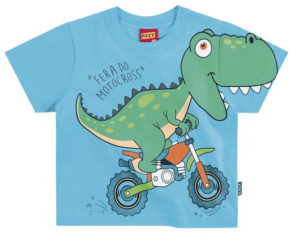 Camiseta Dino Azul | KYLY