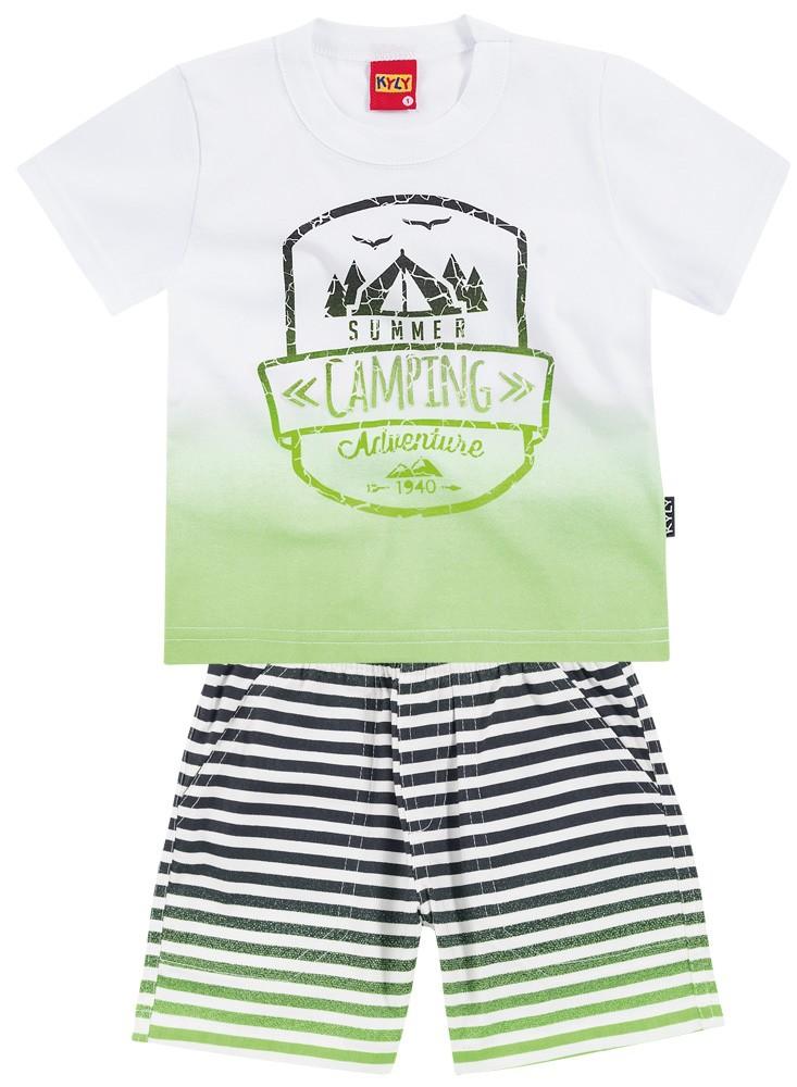 Conjunto Camiseta e Bermuda Summer   KYLY