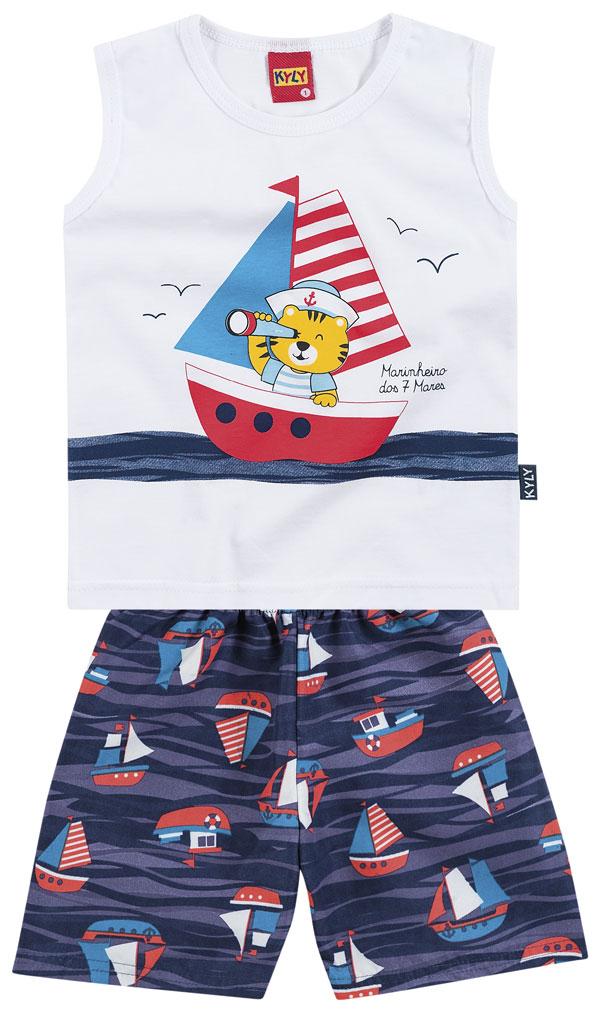 Conjunto Camiseta e Shorts Sailor | KYLY