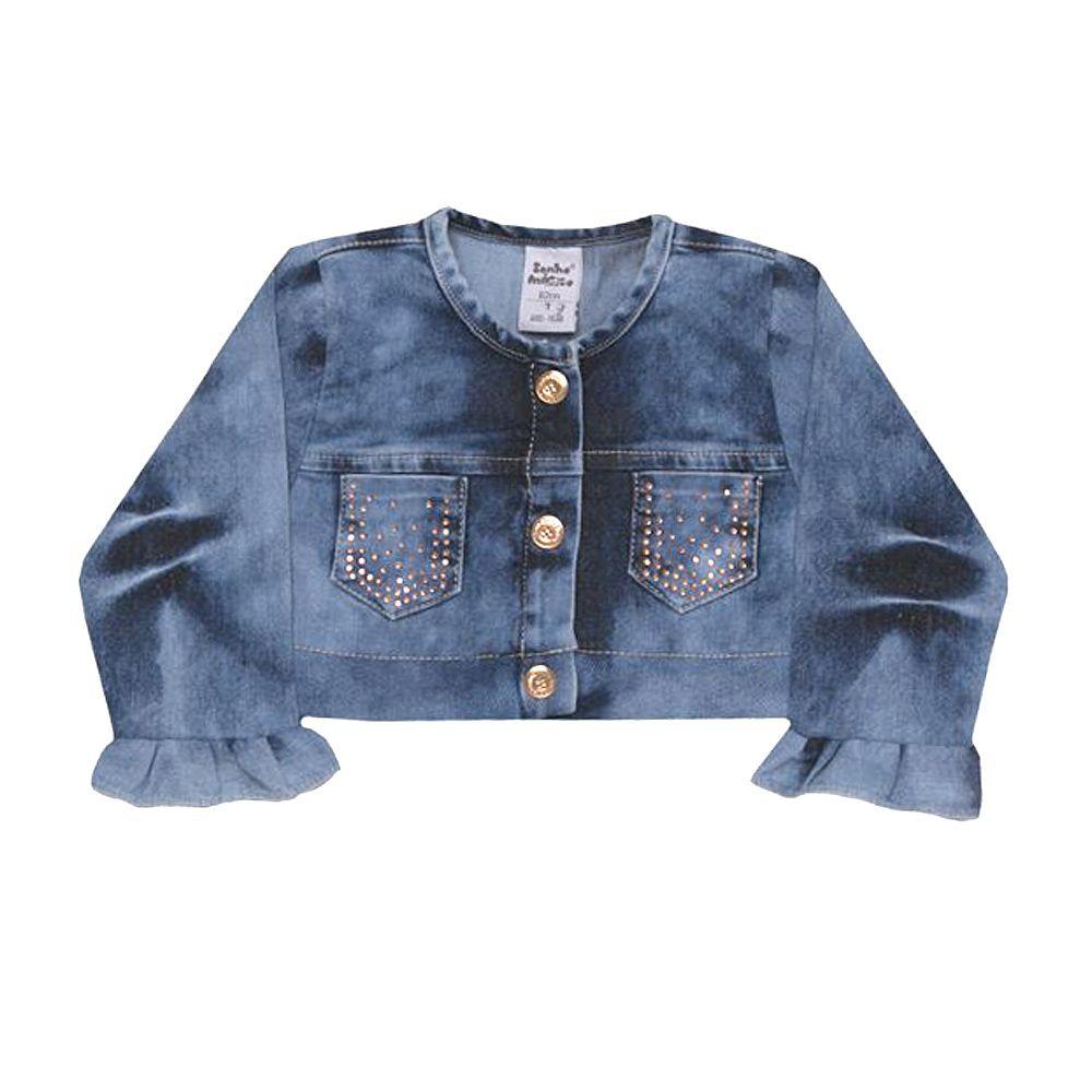 Jaqueta Tecido Charm Jeans | SONHO MAGICO