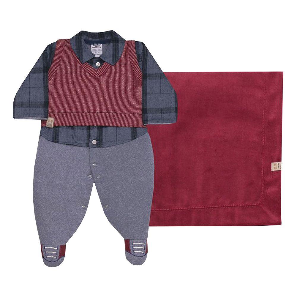Kit Saída de Maternidade Plush Style | SONHO MÁGICO