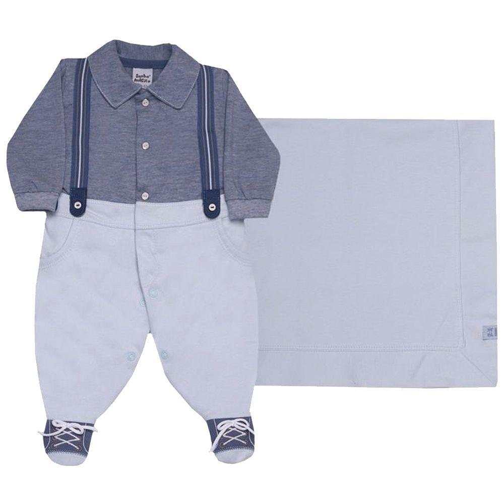 Kit Saída de Maternidade Suedine Style | SONHO MÁGICO