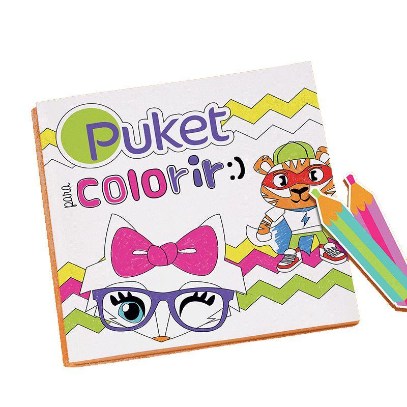 Brinde Livro de Colorir | PUKET