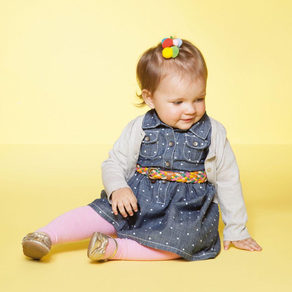Meia Calça Lisa Baby (1-3 anos) | PUKET