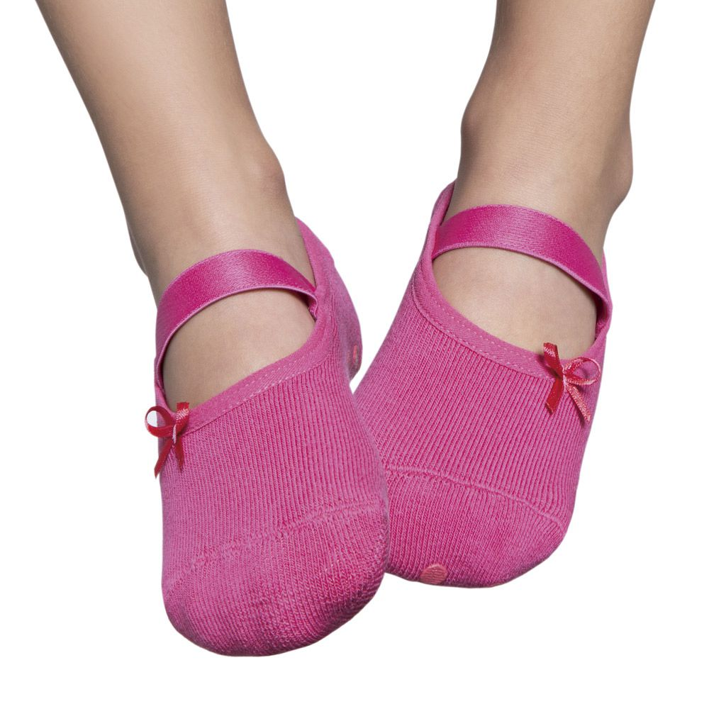Meia Sapatilha Lacinho Pink (2-5 anos) | PUKET