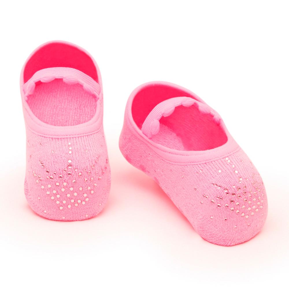 Meia Sapatilha Princess Rosa Bala (0-12 meses)   PUKET