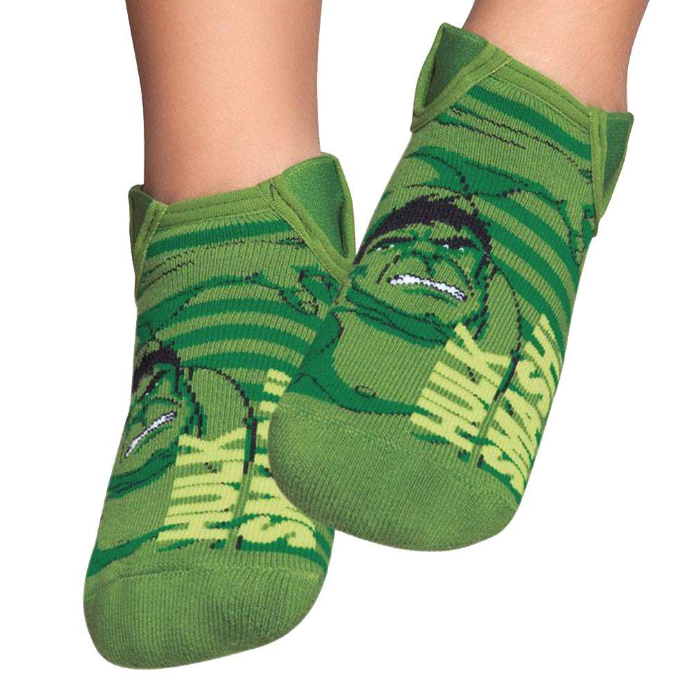 Meia Sapatinho Iate Hulk Verde (2-5 anos)   PUKET
