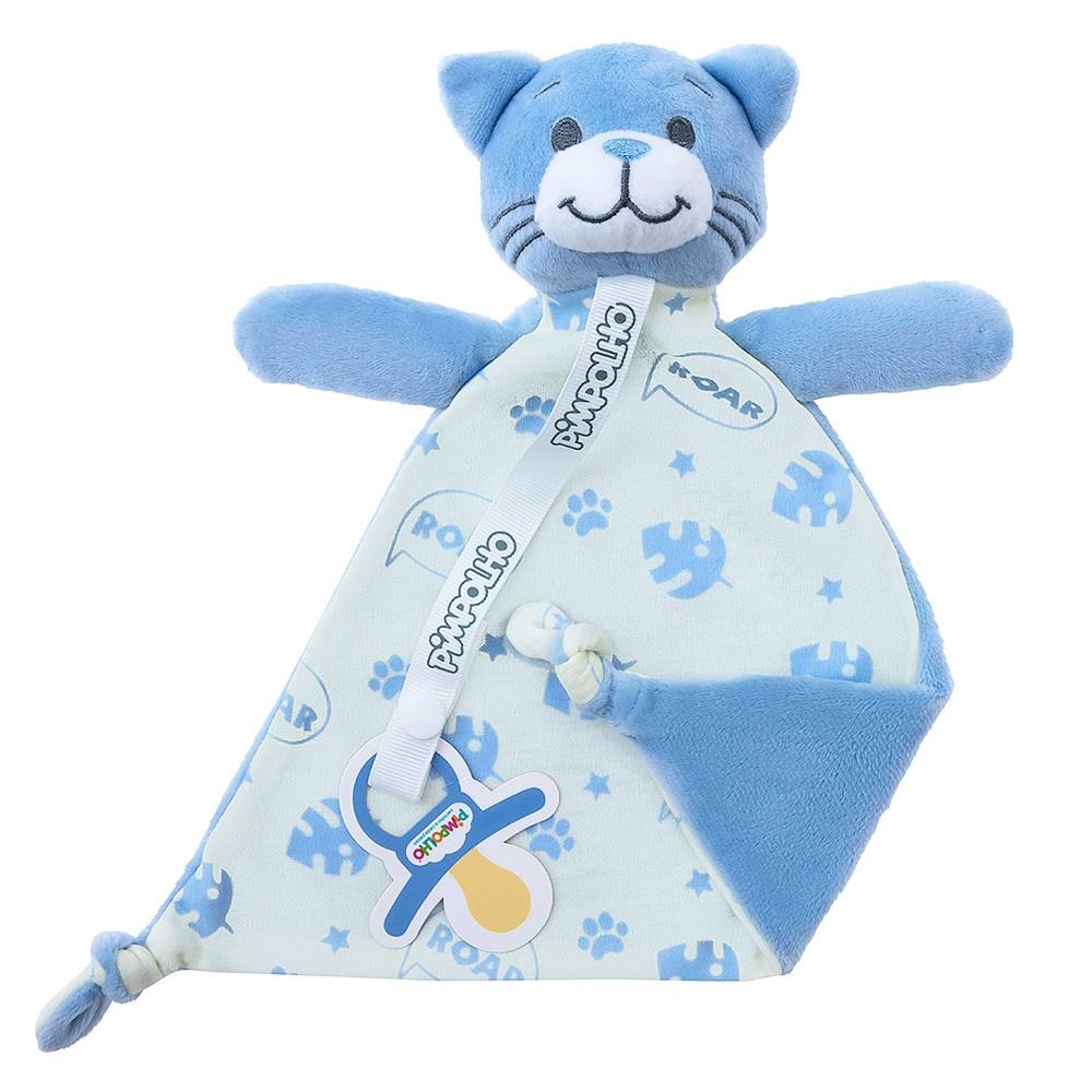 Naninha de Plush Gato Azul | PIMPOLHO
