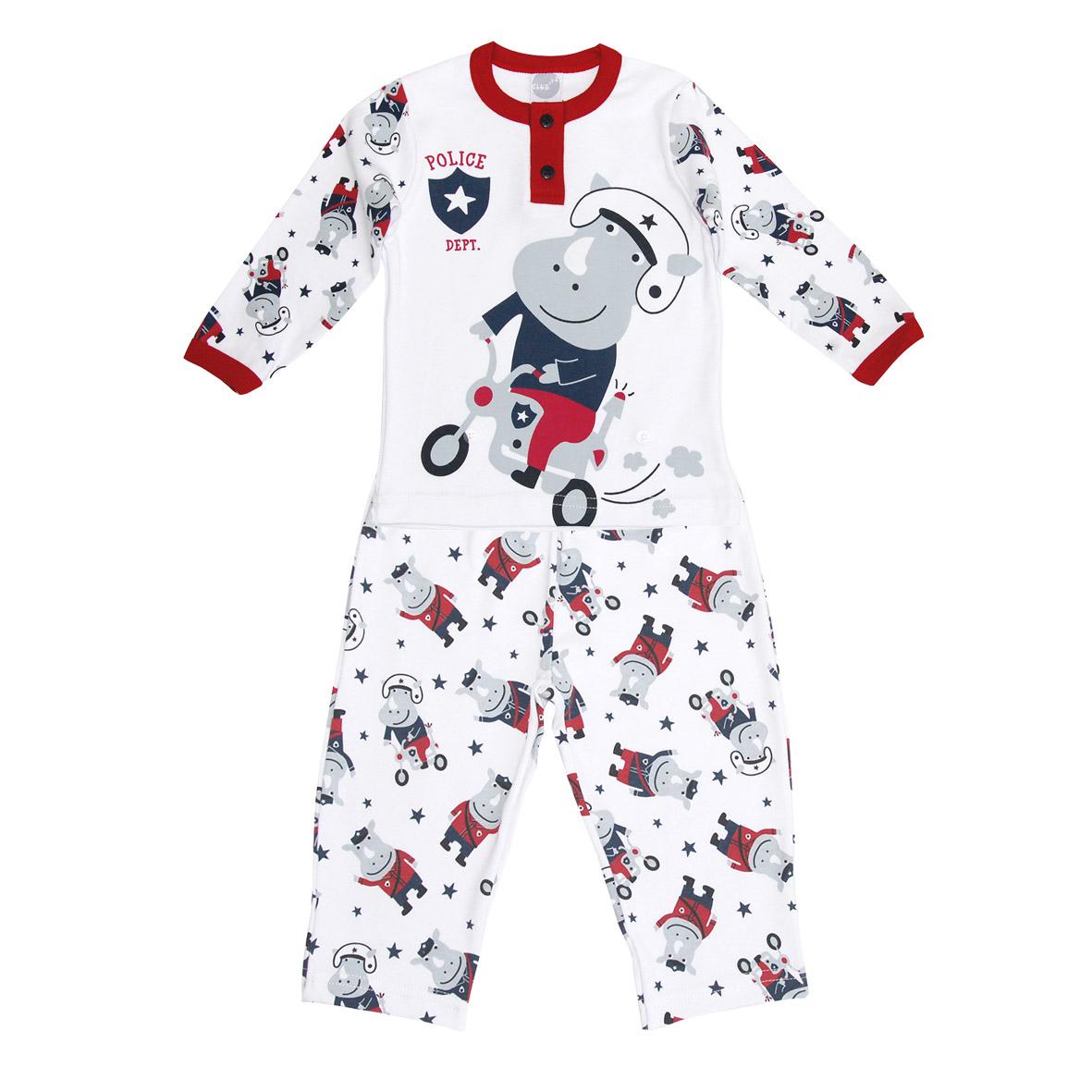 Pijama de Suedine Policial | PIU-PIU