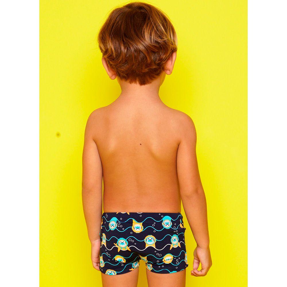 Sunga Kids Morsa Mergulhadora Azul | PUKET