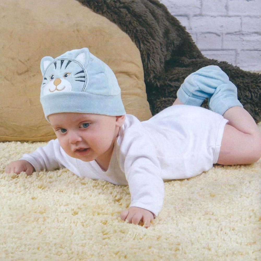 Touca Gorro de Plush Tigre (0-6 meses) | EVERLY