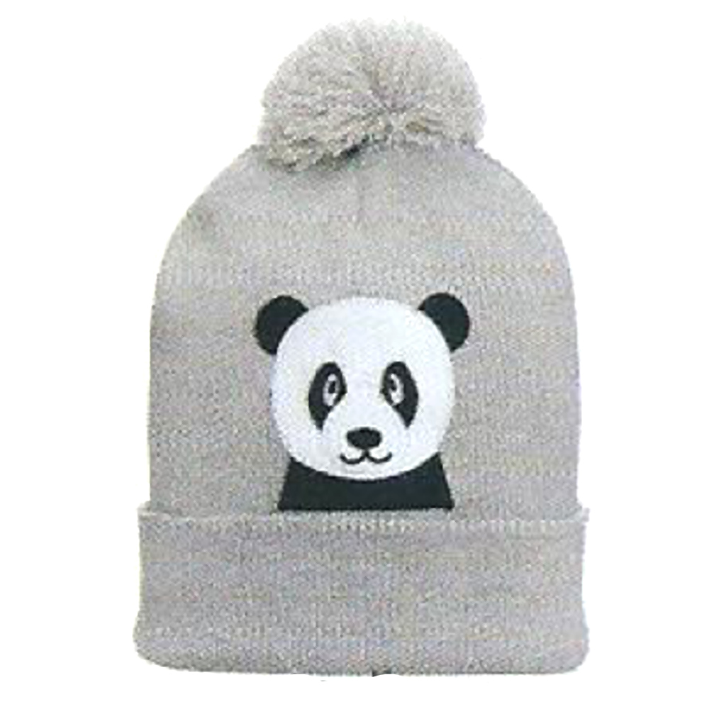 Touca Gorro Infantil Acrílica Panda (2-4 anos) | EVERLY
