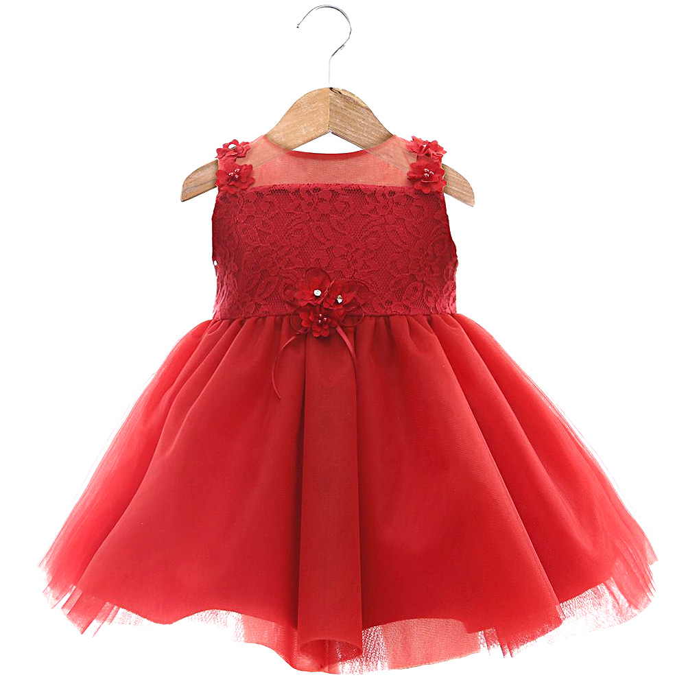 Vestido Bianca Vermelho | BETH BEBÊ