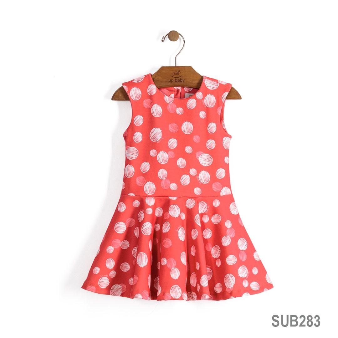 Vestido Romã Bolinhas | UP BABY