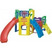 Playground MULTIPLAY (COM ESCALADA PEQUENA E PROTETOR COM TIMÃO) Freso