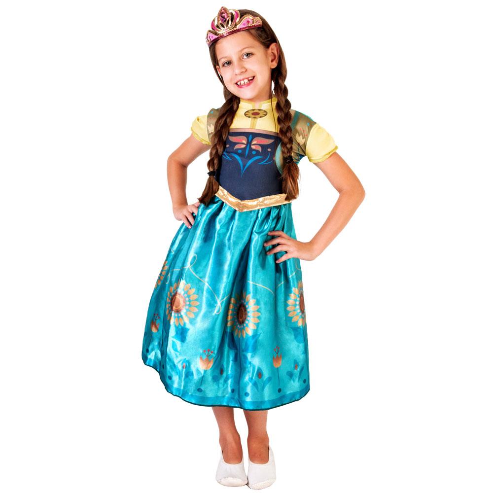 Fantasia Anna Infantil Frozen Fever