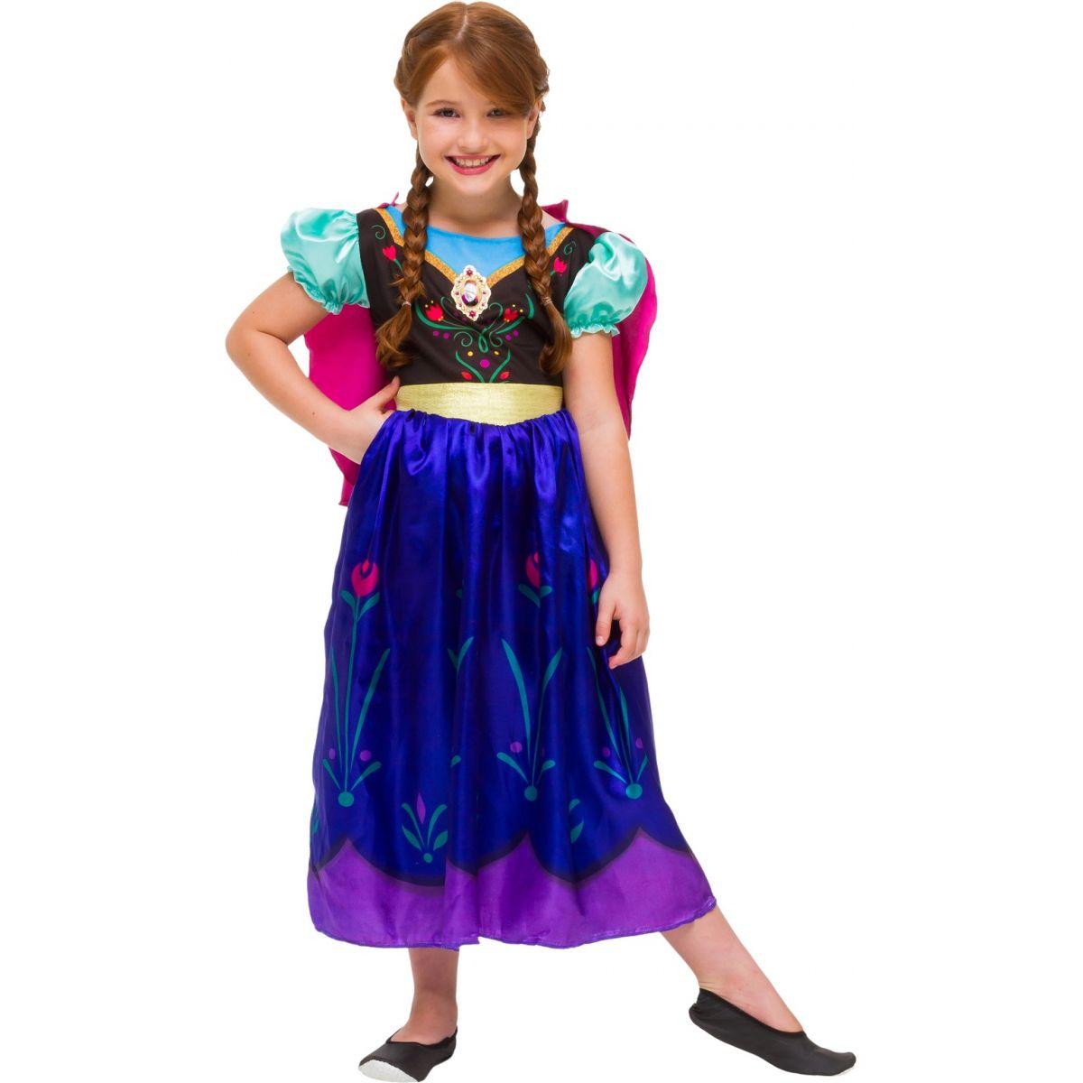 Fantasia Anna Infantil Luxo