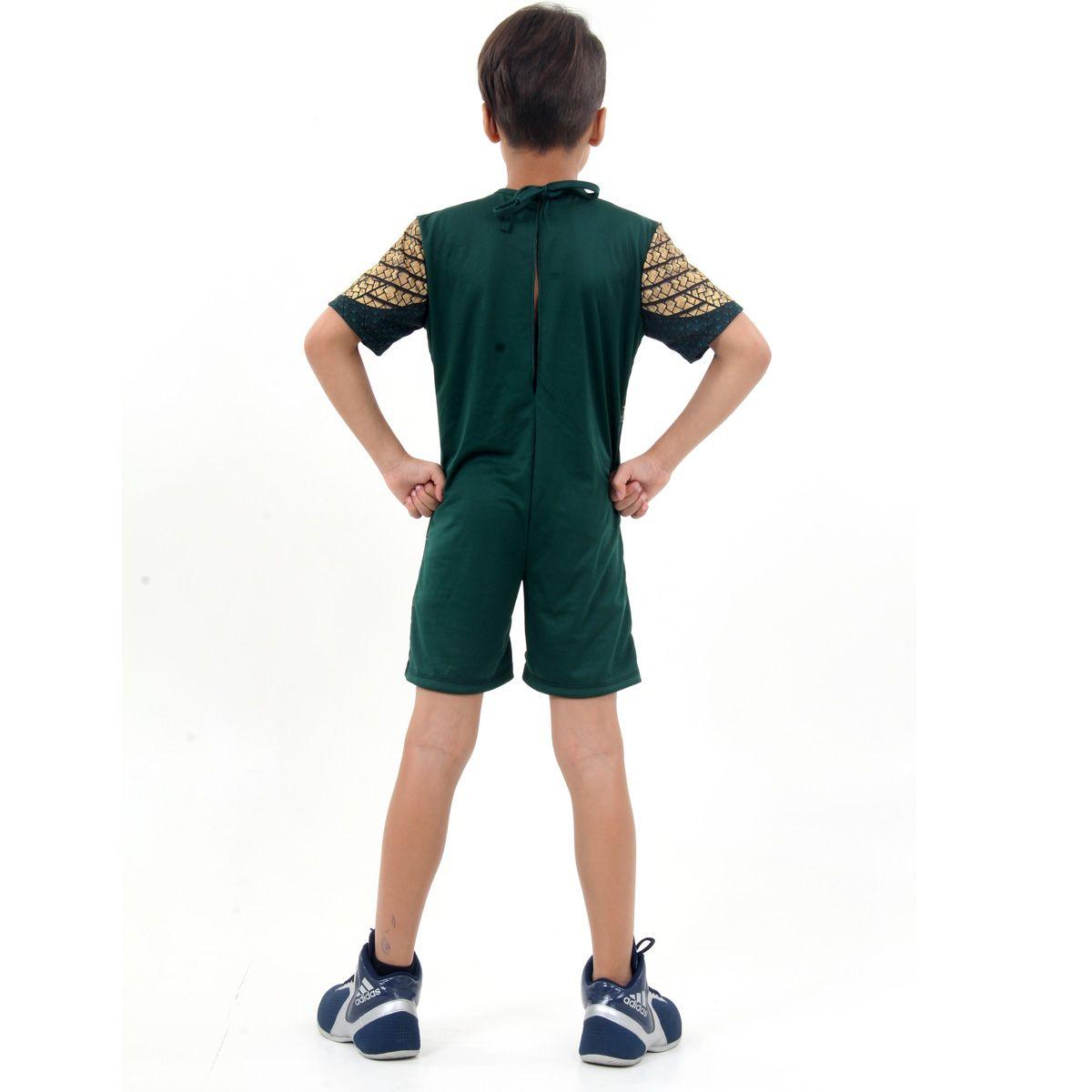 Fantasia Aquaman Infantil com Músculos