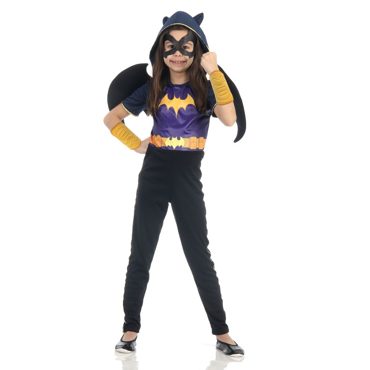 Fantasia Batgirl Infantil DC Super Hero Girls