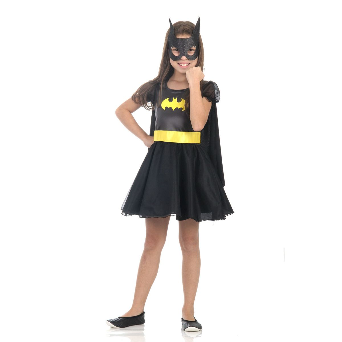 Fantasia Batgirl Infantil Princesa