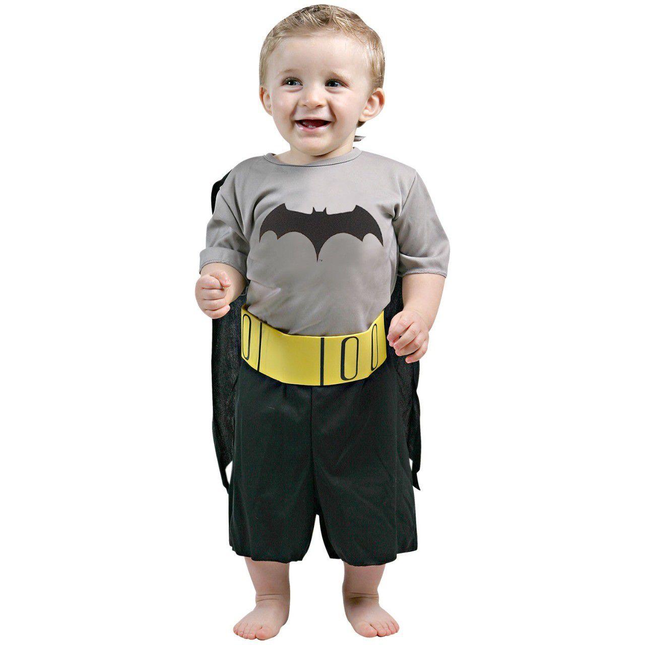 Fantasia Batman Bebê