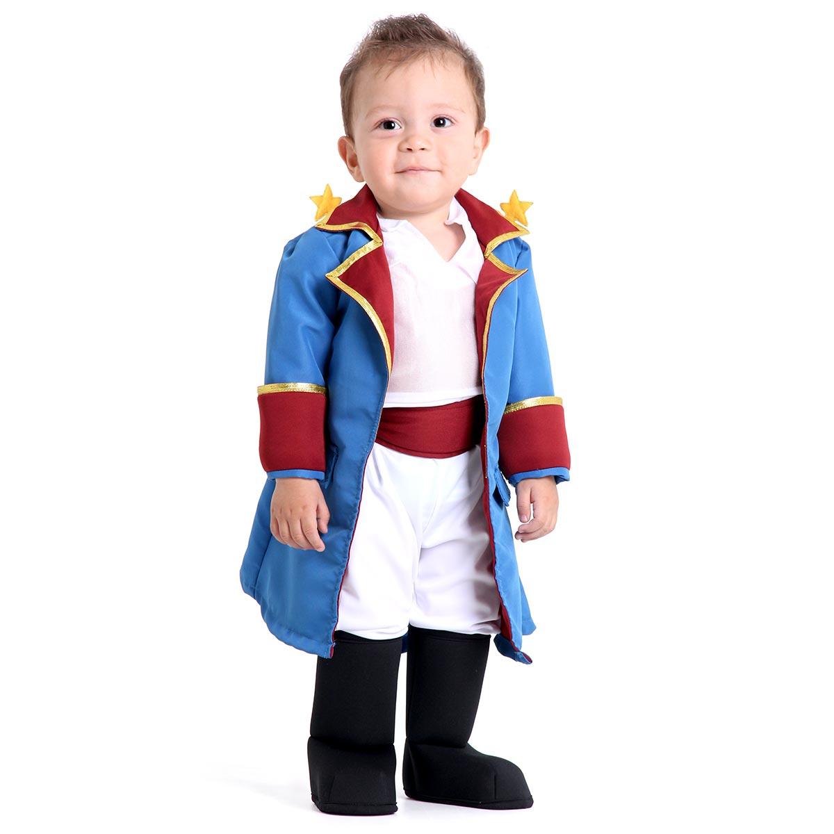 Fantasia Pequeno Príncipe Bebê