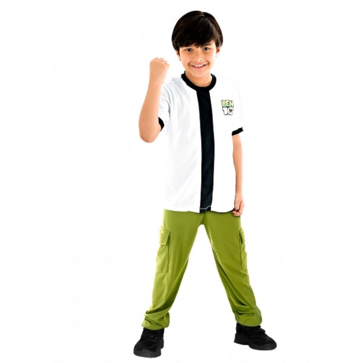 Fantasia Ben 10 Infantil Standard
